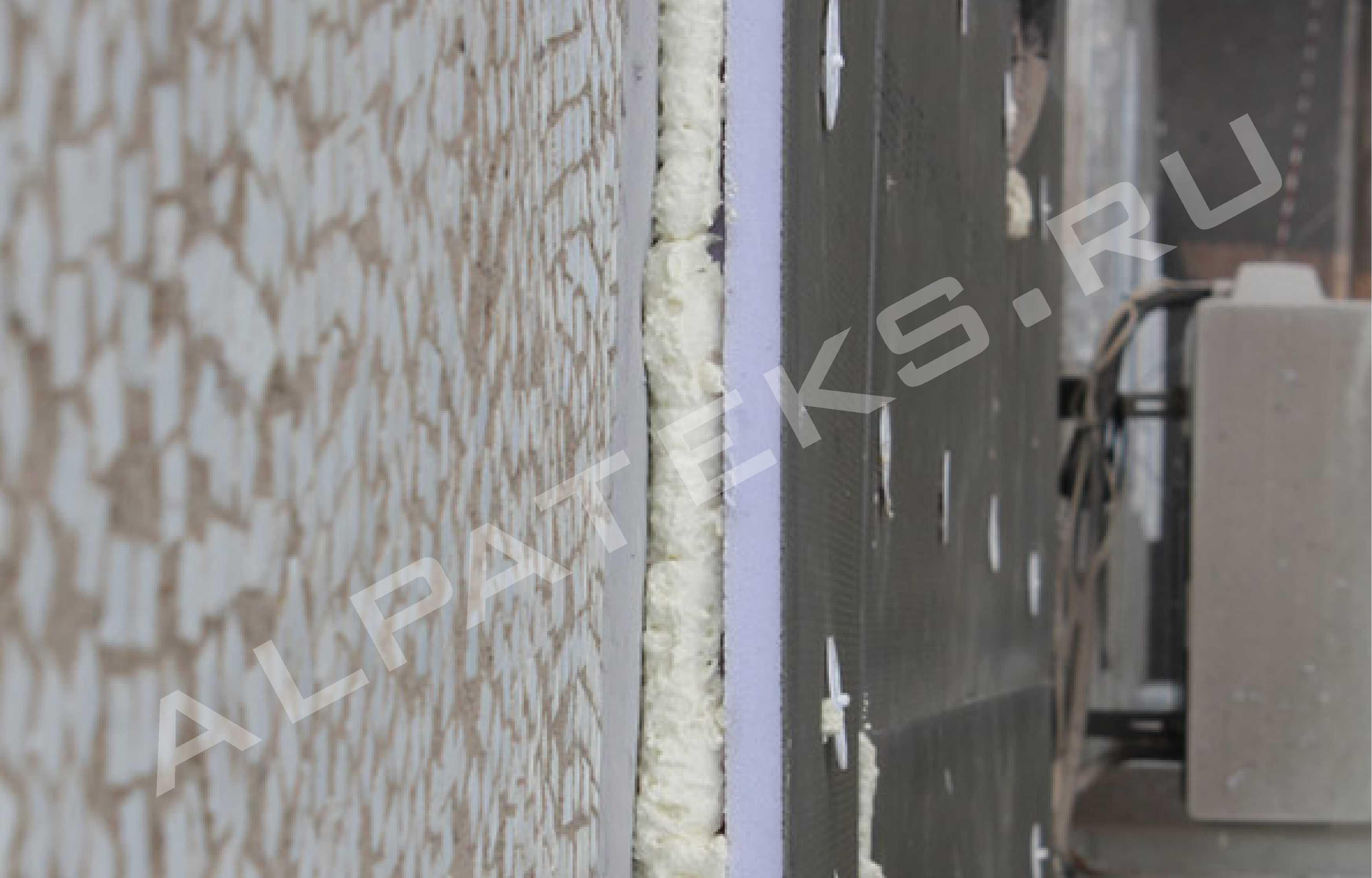 Заделка межпанельных швов в панельных домах альпинистами